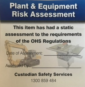 Plant Risk Assessment
